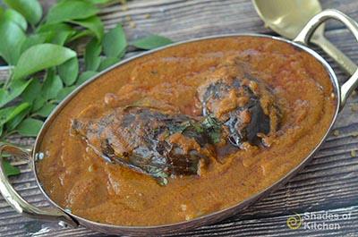 Ennai Kathirikai Kulambu | எண்ணெய் கத்திரிக்காய் குழம்பு | Brinjal Curry