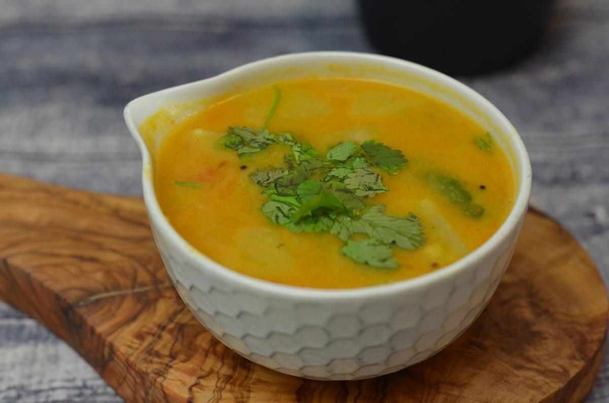 Mixed Vegetable Sambar Recipe (South Indian
