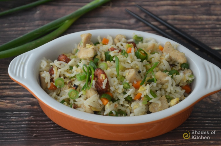 Chinese Mixed Fried Rice | Easy Fried Rice (VIDEO)