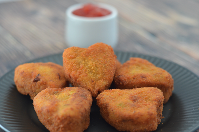 Vegetable Nuggets | Veg Nuggets for Kids Snack Time (VIDEO)