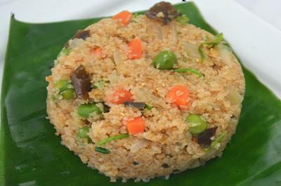 Samba Rava Upma | Mixed Vegetable Wheat Rava Upma (VIDEO)