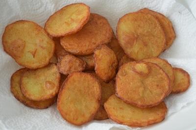 Aloo Tuk | Crispy Potato Fry (VIDEO)