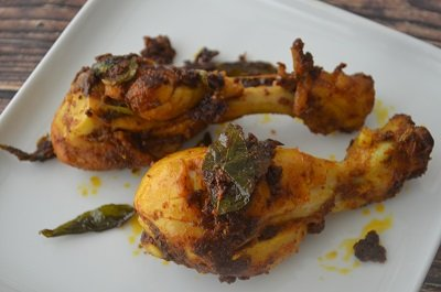 Chicken Leg Fry | Quick and Easy Chicken Fry (VIDEO)