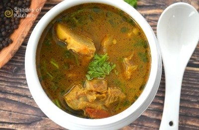 Mutton Bone Soup | Mutton Soup for Cold and Cough (VIDEO)